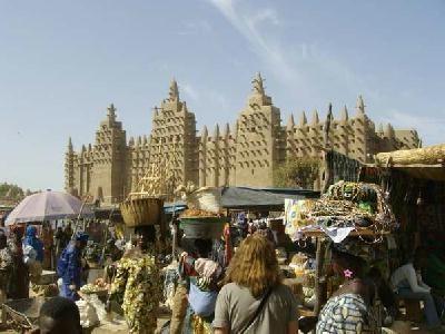 Un marché Africain au Mali -